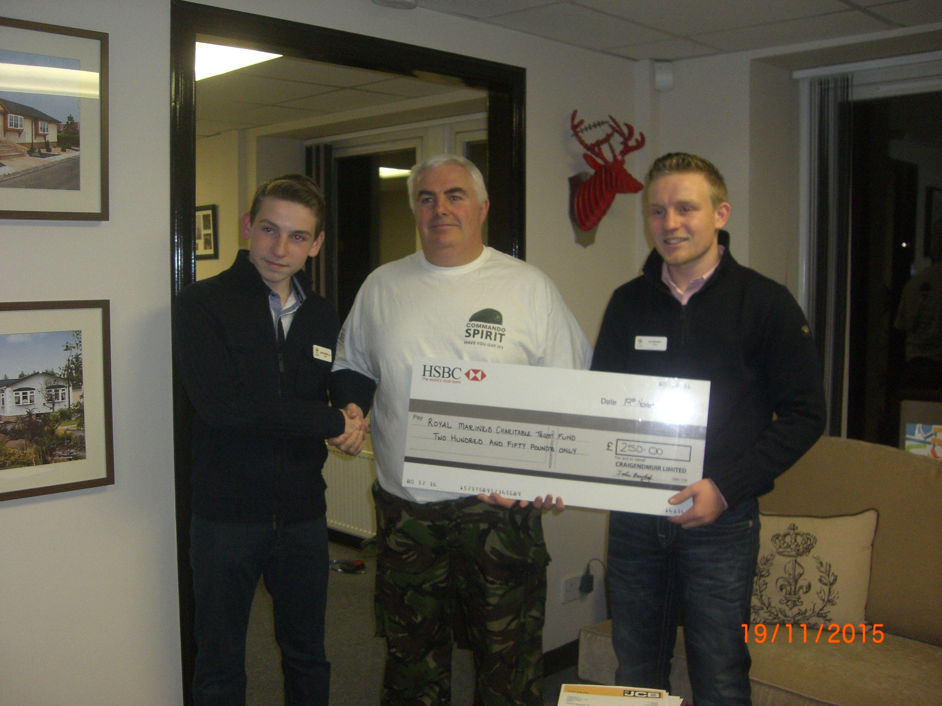 Royal Marines Fundraising