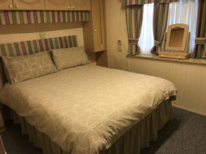 double bedroom static caravan red deer village holiday park