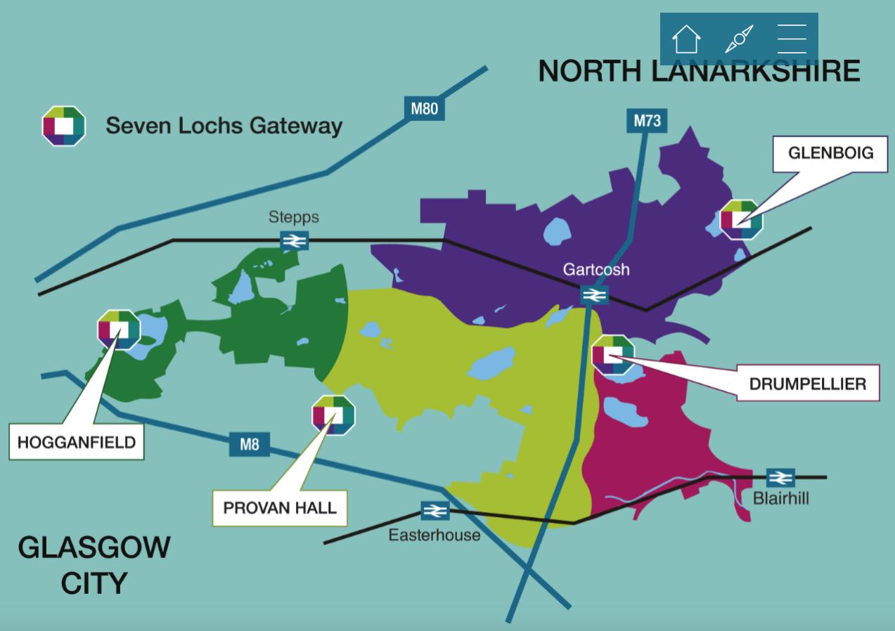 Seven Lochs area